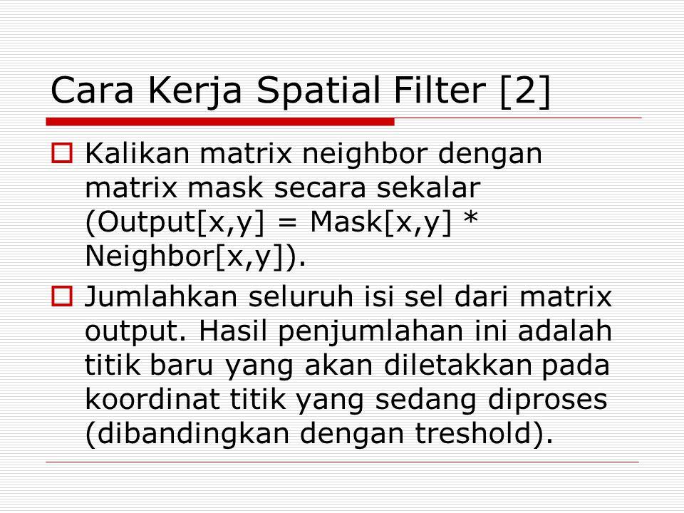 Cara Kerja Spatial Filter [2]